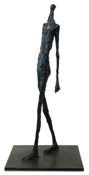 Germaine Richier (1904-1959), La Ville, 1951, sculpture en bronze à patine vert antique, susse fondeur, signée et numérotée 2/6, 133 x 62 x 60 cm. Frais compris : 525 000 €. Cannes, dimanche 6 décembre. Cannes Enchères SVV. M. Willer.