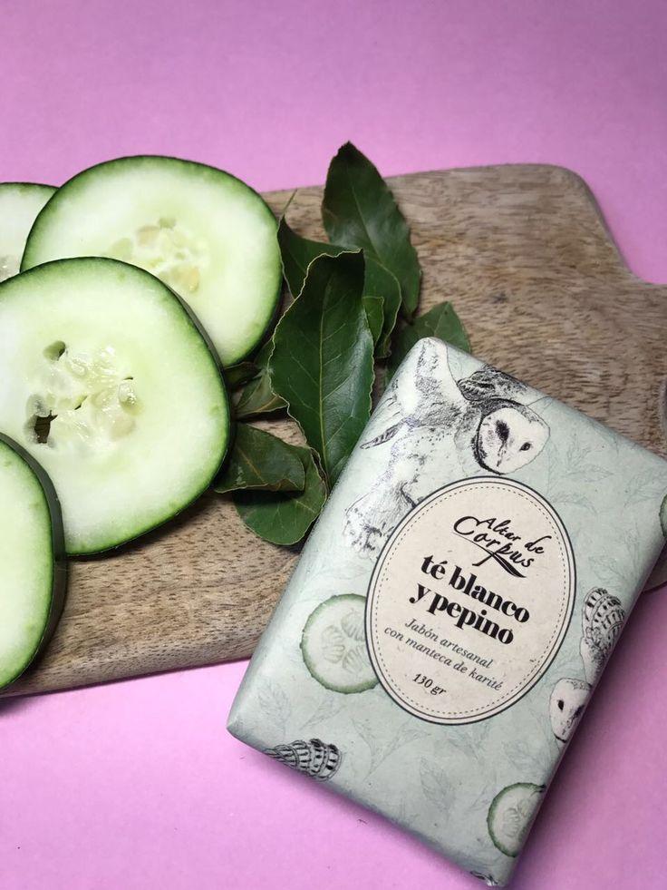Te blanco y pepino... Nuestro nuevo, fresco y delicioso Aroma!!!!