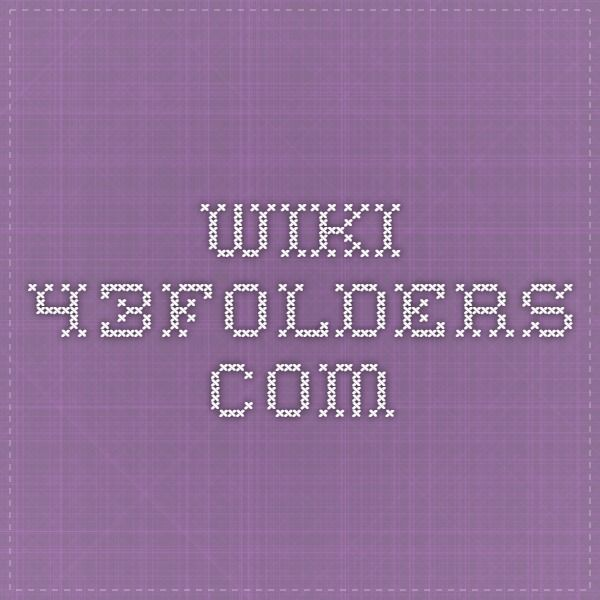 wiki.43folders.com