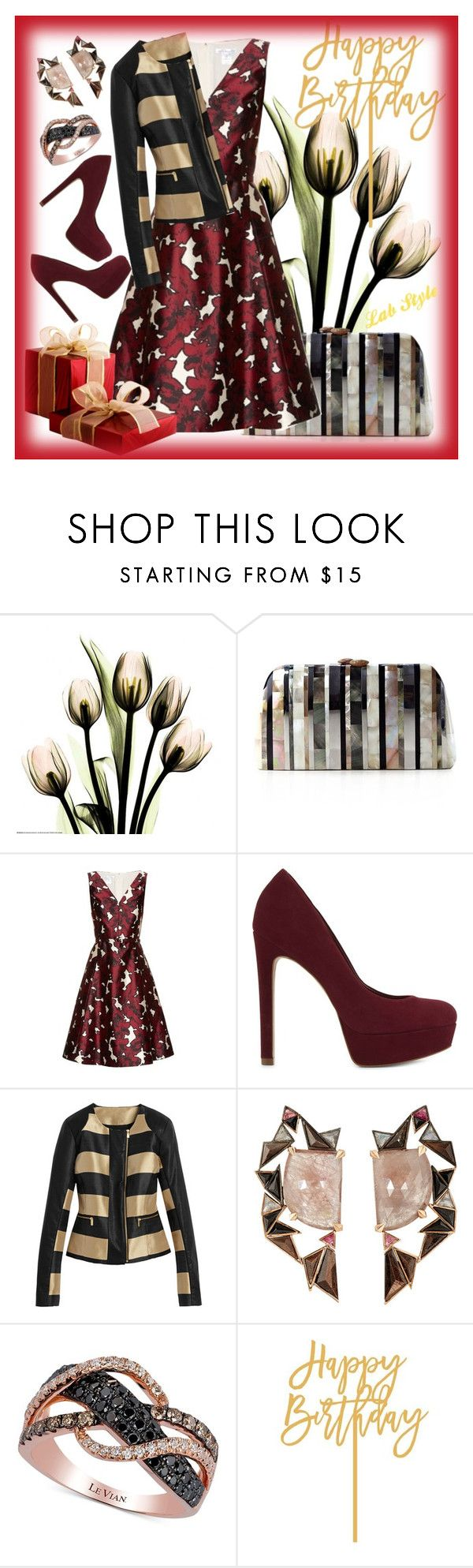 """for Tatiana D."" by labstyle on Polyvore featuring мода, Serpui, Oscar de la Renta, ALDO, Nak Armstrong и LE VIAN"