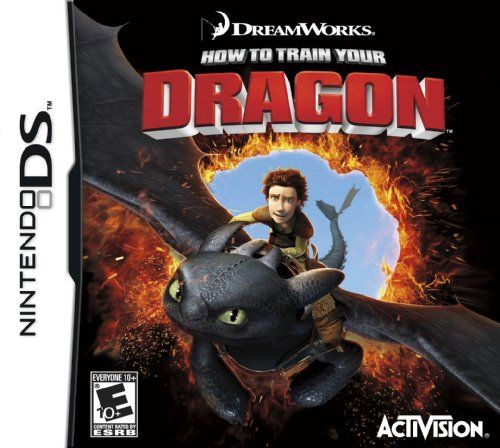 nice Dragon Games | How to Train Your Dragon NDS
