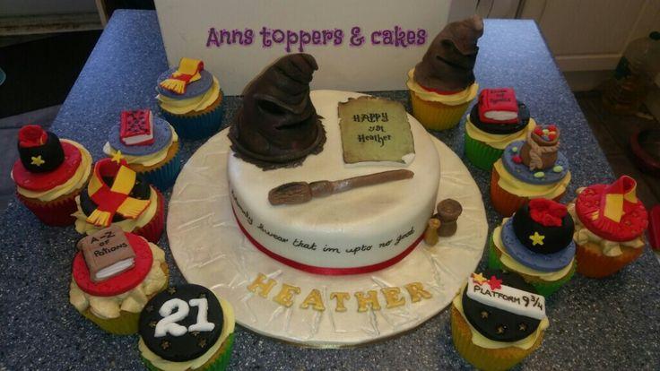 Harry potter 21st cake