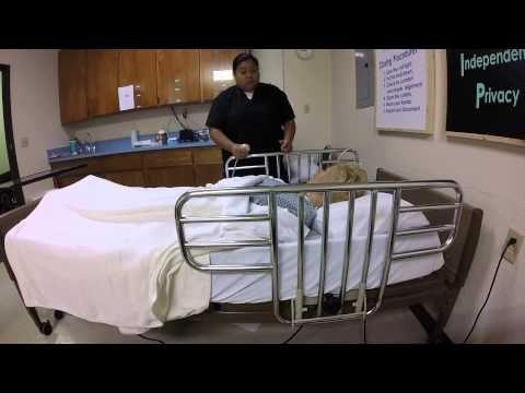 CNA Skill #3 Position the Resident in a Fowler's Position