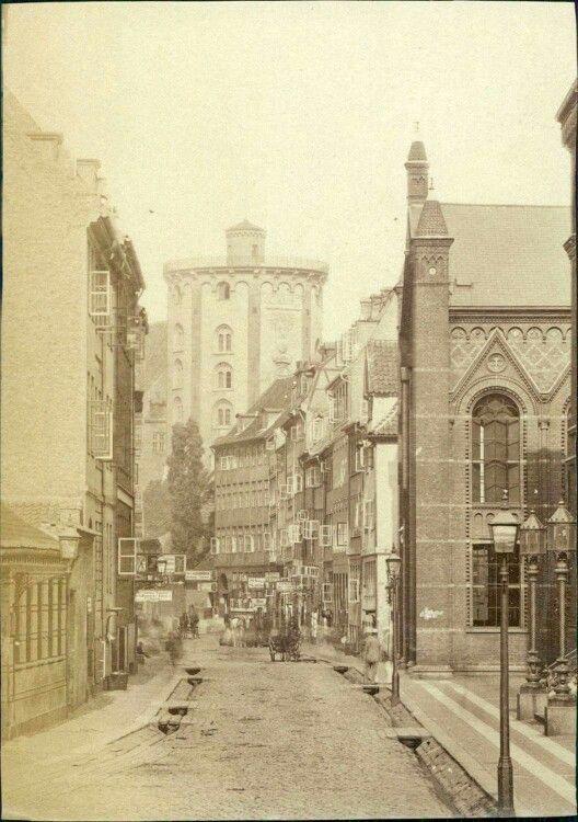 Krystalgade ca. 1890-1900