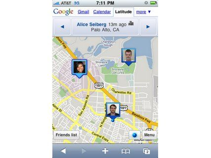 Apple blocks Google Latitude App | Google is 'finally' announcing Latitude for the iPhone, but can't put it on the Google Maps application at the request of Apple. Buying advice from the leading technology site