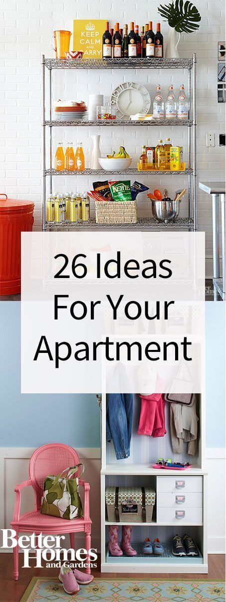 Looking for apartment decorating ideas on a budget? Make your first apartment (no matter how small it is) look like it came straight out of a magazine with these decorating tips that double as space savers! #diy #decor #apartment