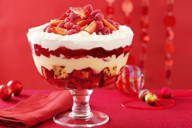 Serve this cheerful and charming classic dessert to brighten any Christmas celebration.