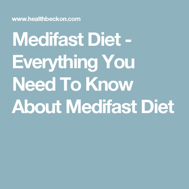 Medifast Diet - Everything You Need To Know About Medifast Diet