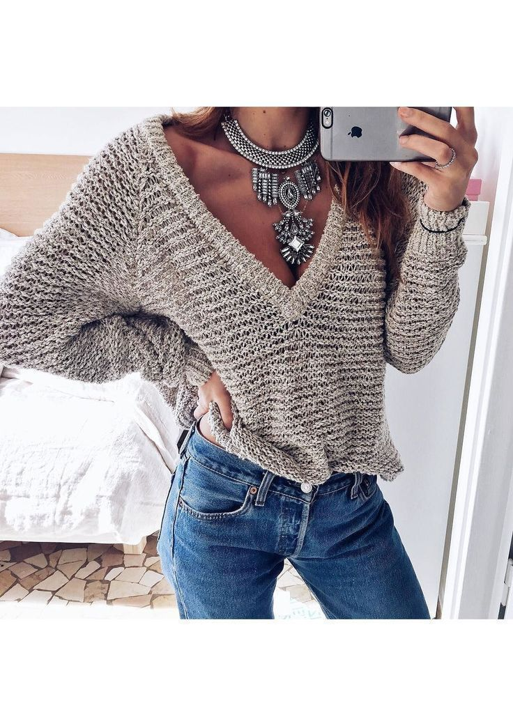 Bold Statement Necklace In Silver #ootd #fashion -  22,90 € @happinessboutique.com