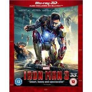 Iron Man 3 3D (Blu-ray)