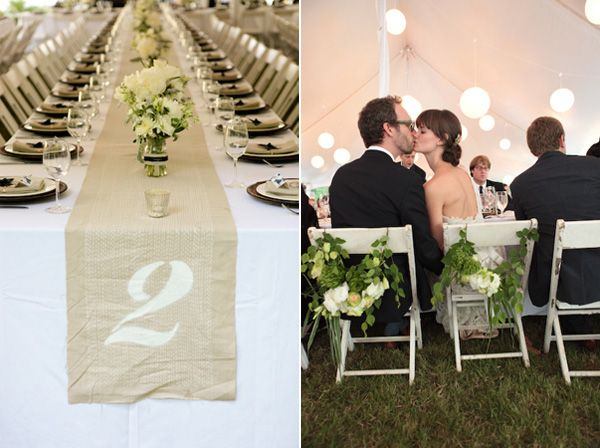 Table Numbers on runners