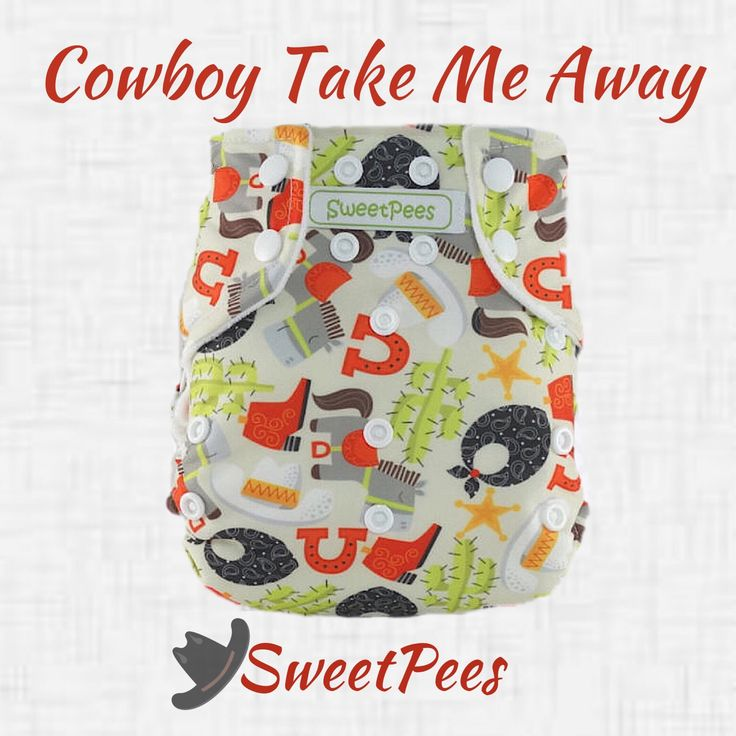 If you've grown something wild and unruly, you will need these #SweetPees #Cowboy #ClothDiapers! #dixiechicks2016  #prefolds #swimdiapers #clothdiaperedbaby #giveclothachance #clothbum #bestdiaper #realdiapers #diaperstash #rodeos #horses