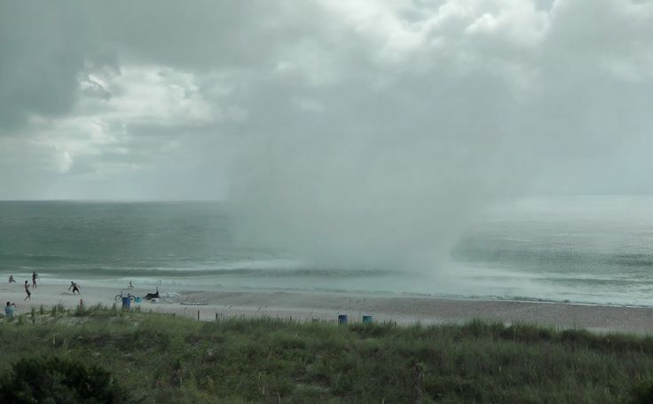 Waterspout Tornado Carolina Beach- Extreme Close Up