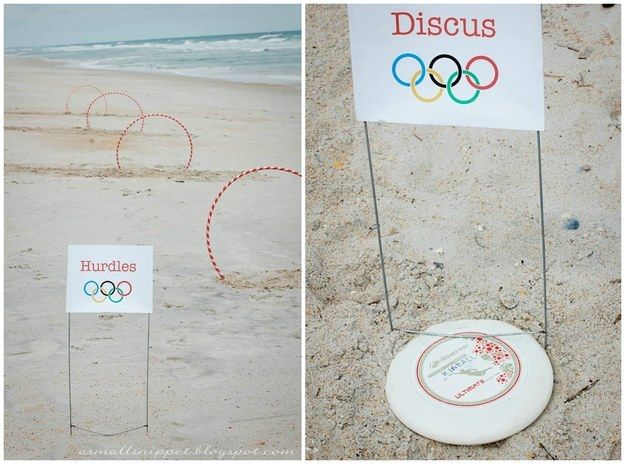 Dollar-store stuff can also be used to make your own backyard (or beach) Olympics. | 29 Dollar Store Finds That Will Keep Your Kids Busy All Summer