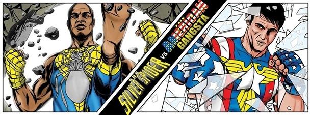 Hoje é dia de #UFC galera, e a luta do século de Anderson 'The Spider' Silva e Chael Sonnen virou Quadrinhos!