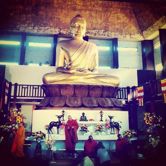Le Bouddha le plus grand d'Europe ! Le temple bouddhiste Kagyu Dzong au Bois de Vincennes. Paris 12e