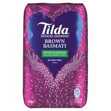 Tilda Basmati Brown Rice 500G
