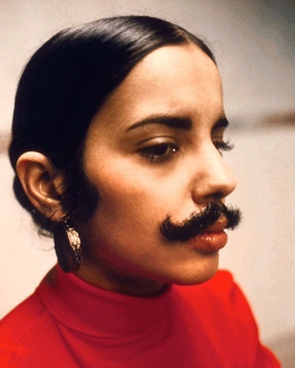 The Curious Case of Carl Andre. Posted March 12, 2015 (photo: Ana Mendieta, Untitled (facial hair transplant, moustache).