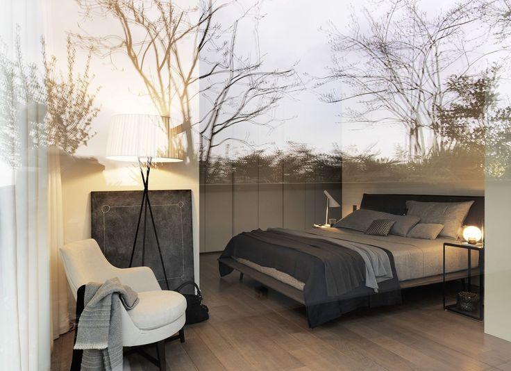 Penthouse At Bosco Verticale - Picture gallery idee per la - mondo paolo schlafzimmer