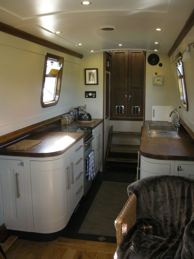 this is similar to the layout I am planning for my narrowboat kitchen