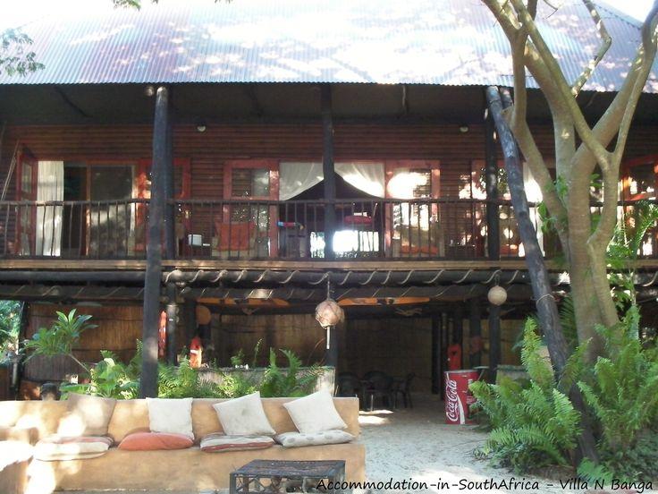 Villa N'Banga accommodation. Mozambique accommodation.
