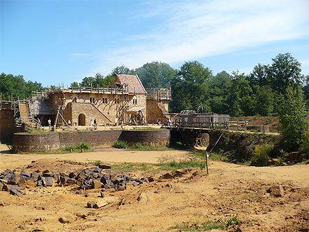 Bourgogne > Yonne > Treigny > Chantier médiéval de Guédelon
