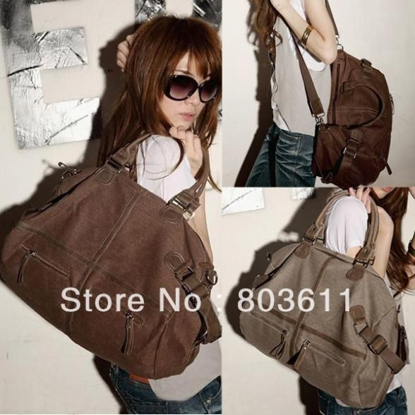 Cheap bag therapy, Buy Quality bag motorcycle directly from China bag roller Suppliers: 	  	Fashioon Korean Style Womens Vintage Canvas bag Messenger Shoulder School Travel Bags	  		  	&nb