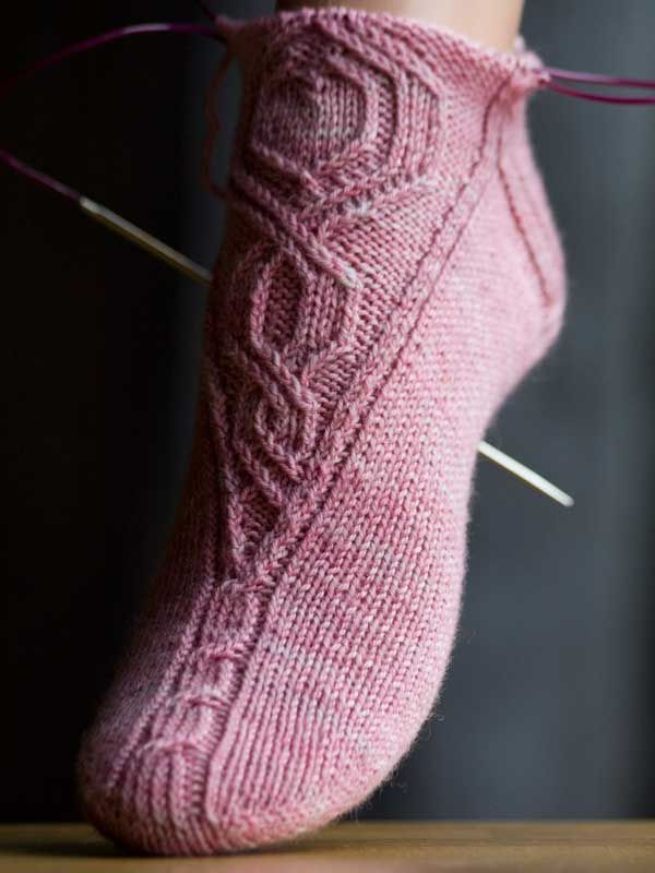 Knitting Socks Pattern : Best images about knit toe up socks on pinterest