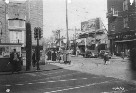 Avenue du Mont-Royal 1943