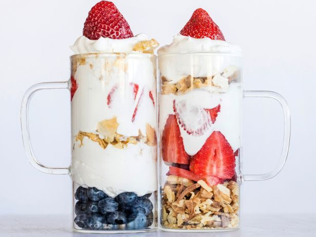 Parfaits : Crush the ice cream cones by hand or in a food processor, then use the crunchy crumbs in a parfait. Layer with your favorite parfait ingredients, like fresh fruit and whipped mousse.