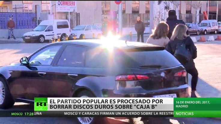 Procesan al Partido Popular de España por borrar discos duros sobre la c...
