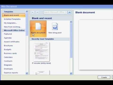 Más de 25 ideas increíbles sobre Microsoft word 2010 free en - find resume templates word 2007