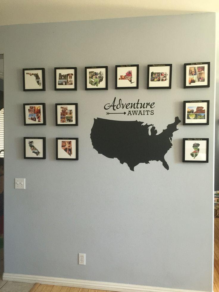 Best 25+ Travel wall ideas on Pinterest