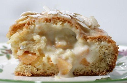 Чадейка - Бисквитный пирог со свежими фруктами