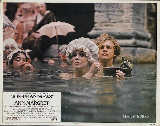 Joseph Andrews - Lobby card with Ann-Margret & Peter Firth