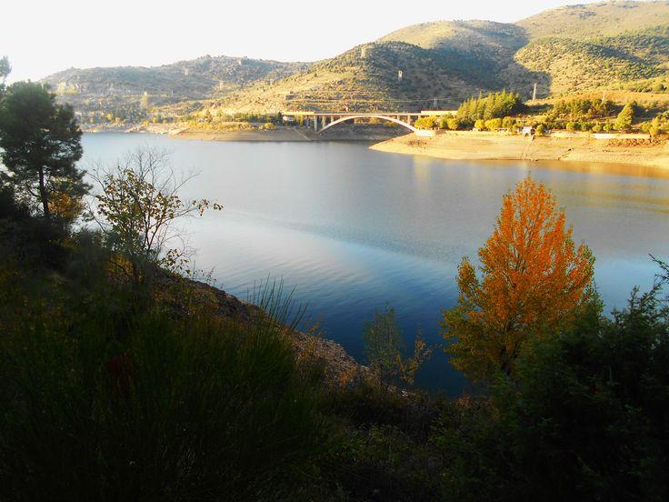 El pantano de El Burguillo.