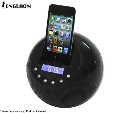 iPhone or iPod Radio, Clock and speaker in 1! For only $24.46