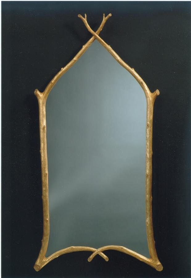CARVER'S GUILD - Grand Gothic Twig Mirror