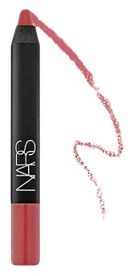 NARS Velvet Matte Lip Pencil in Dolce Vita - dusty rose. Pretty for day or evening. Very natural looking.