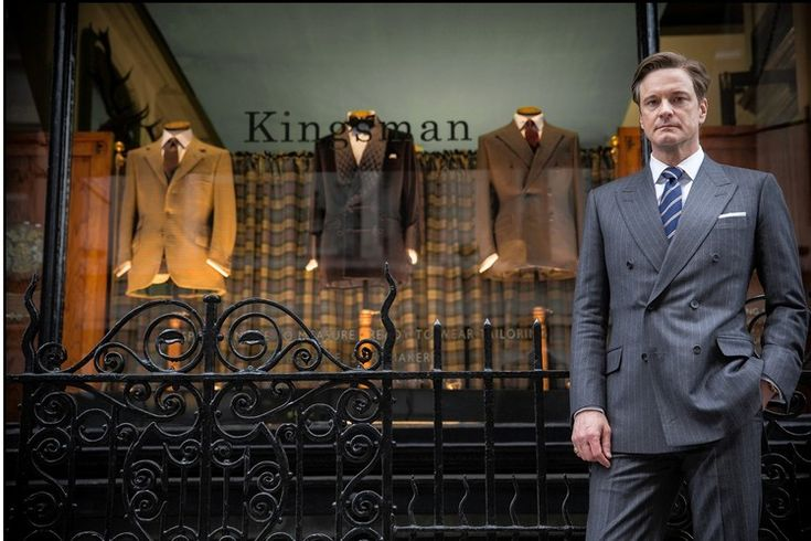 Colin Firth stars in 'Kingsman: The Secret Service.'