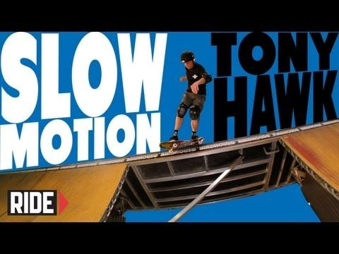 a?� Tony Hawk Skateboarding in Slow Motion - Shove-it Backside Smith Grind - YouTube #skateboard #tonyhawk #slowmotion | See more about Skateboarding, Skateboard and Hawks.