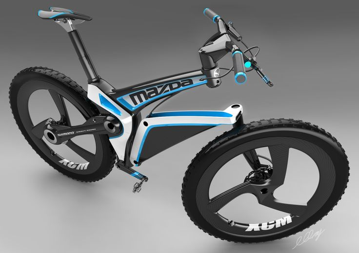 Mazda Xcm Concept Cross Country Mountain Bike Mazda And