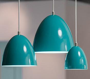 GLAMOX LUXO – EAS. moffice.dk. #design #belysning #kontor #pendel  #indretning #lampe #blå