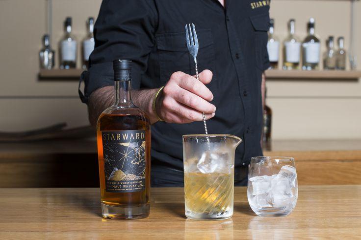 STARWARD Old Fashioned at New World Whisky Distillery bar