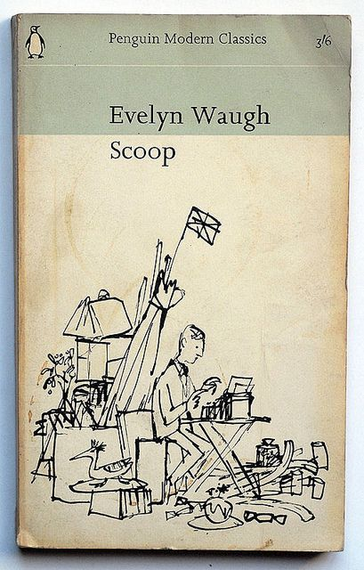 """""""Feather footed through the plashy fen passes the questing vole"""". Genius. Evelyn Waugh : Scoop by alexisorloff, via Flickr"""