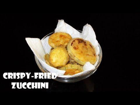 How to make Crispy Fried Zucchini Chips