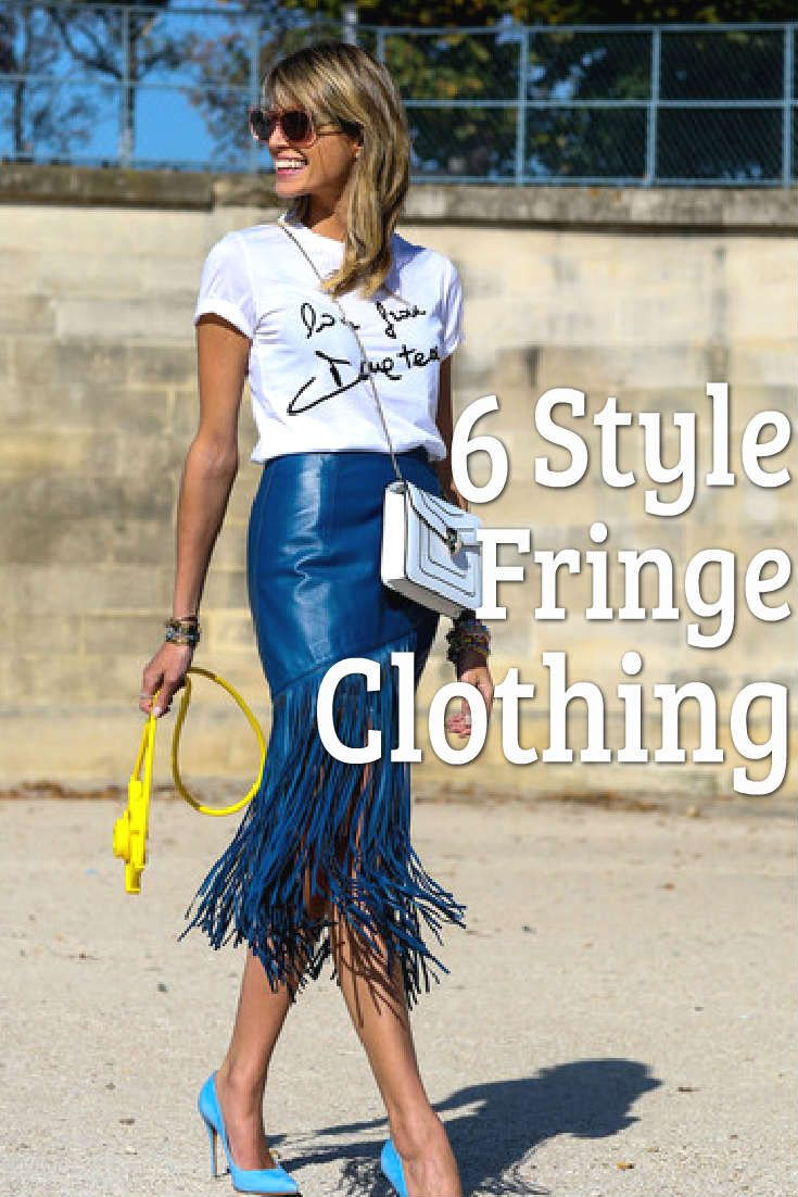 Although it might remind you of the wild-wild west, never fear, fringe is back bigger than ever! There are subtle ways to incorporate this tricky trend into your wardrobe, without of course looking like a cowboy… Not that there's anything wrong with that.