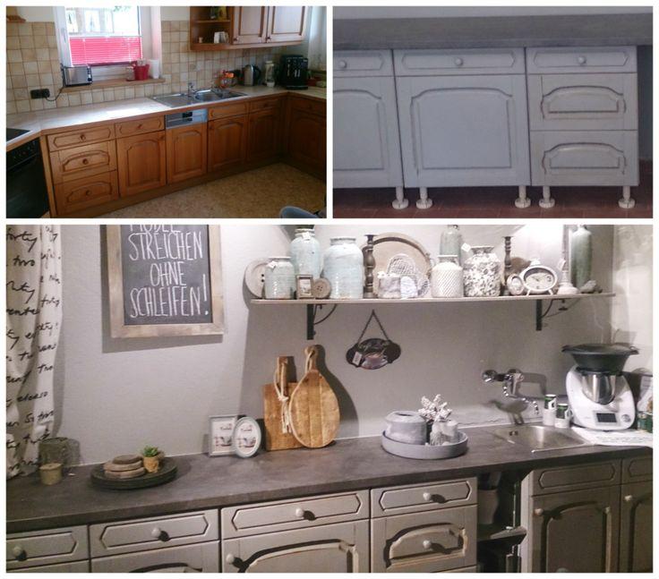 küche streichen, küche renovieren mit annie sloan chalk