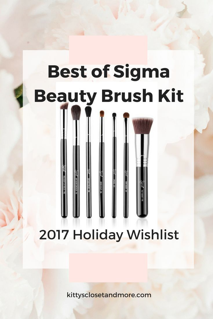 Sigma Beauty Best of Sigma Beauty Brush Kit   Stay on top of your makeup game with this set featuring seven of Sigma's exclusive and current best-selling brushes. Kit includes:- F80 Flat Kabuki Brush- P88 Precision Flat Angled Brush- F64 Soft Blend Concealer Brush- E57 Firm Shader Brush- E38 Diffused Crease Brush- E34 Domed Utility Brush- E21 Smudge Brush Style Name: Sigma Beauty 'Best Of Sigma Beauty' Brush Kit ($122 Value) for $92  #nordstrom #sigmabeauty #nordstrompartner