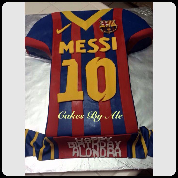 Messi cake